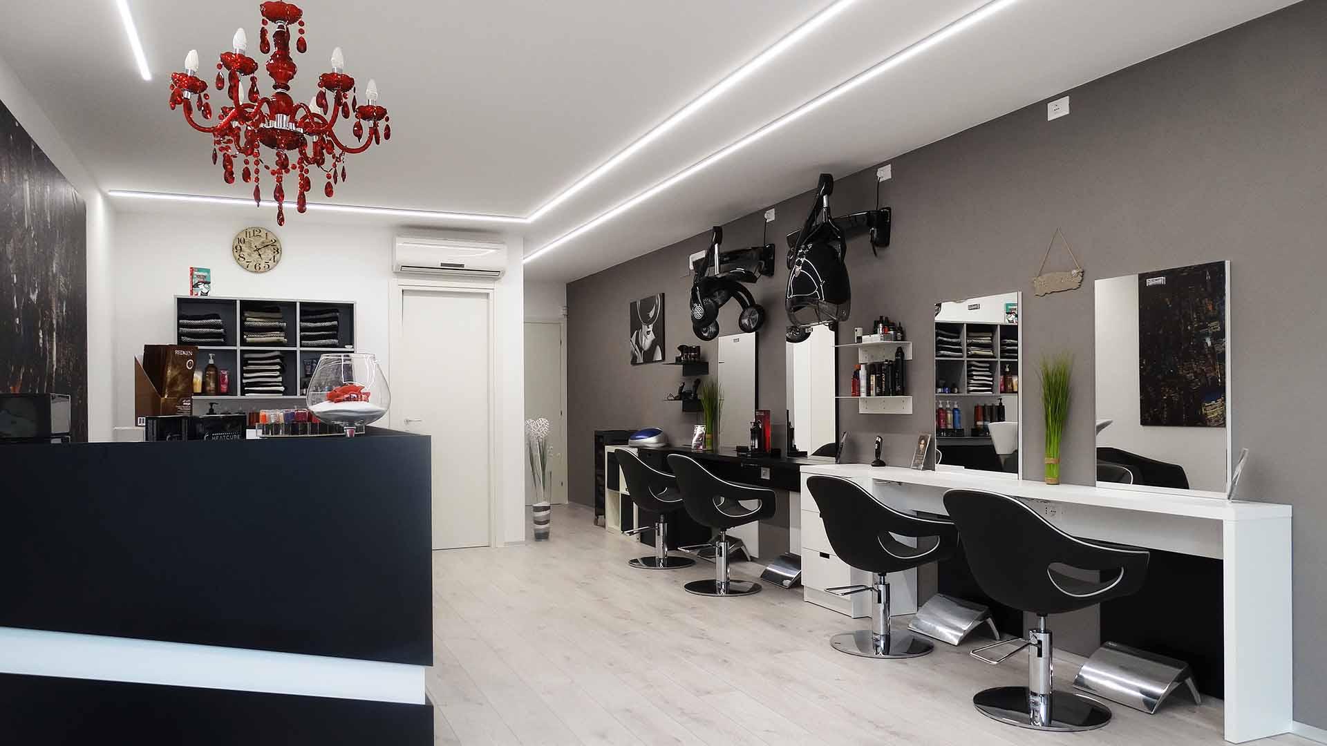 arredamento per saloni di parrucchieri jd design